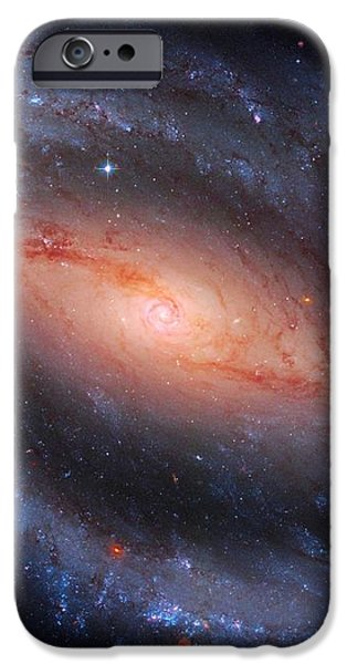 Barred Spiral Galaxy Ngc 1300 iPhone Case by Don Hammond