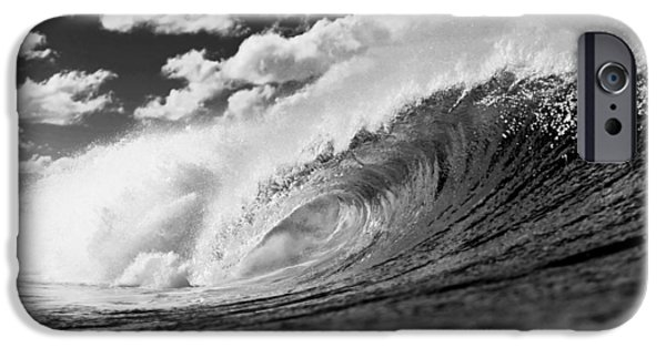 Alternative Energy iPhone Cases - Barrel Clouds iPhone Case by Sean Davey
