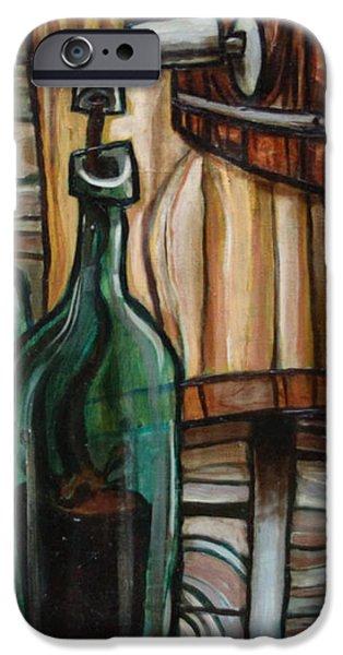 Barrel to Bottle iPhone Case by Sean Hagan