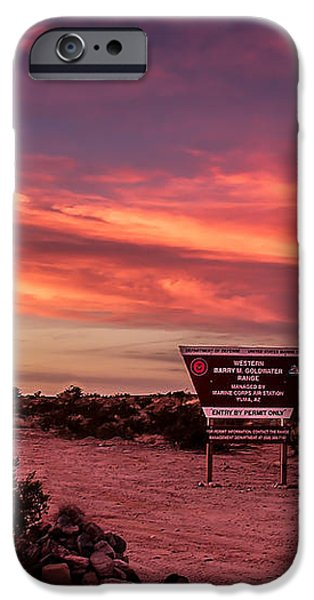 Barry Goldwater Range iPhone Case by Robert Bales