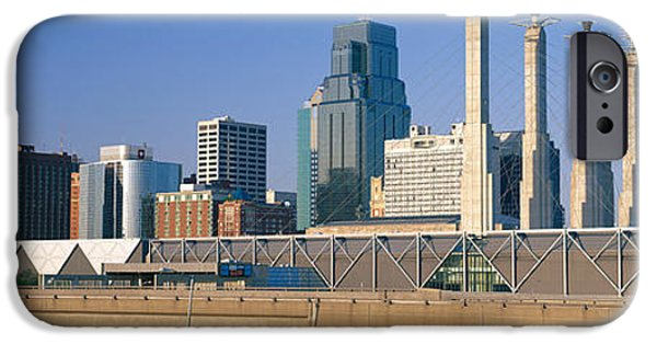 Commercial Photography iPhone Cases - Bartle Hall Kansas City Mo iPhone Case by Panoramic Images
