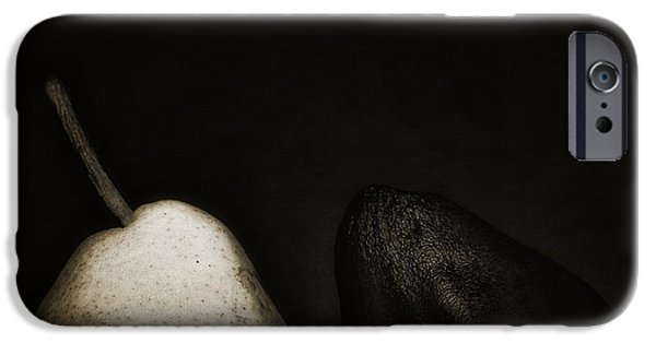 Pears iPhone Cases - Bartlett and Anjou Pear iPhone Case by Jesse Castellano