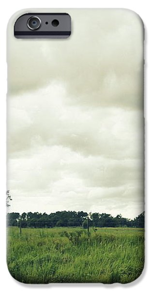Bartow Highway iPhone Case by Laurie Perry