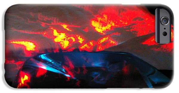 Final Resting Place iPhone Cases - ...Base camp Vue... iPhone Case by Charles Struse Sr