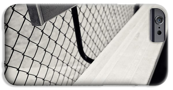 Faucet iPhone Cases - Baseball Field 10 iPhone Case by YoPedro
