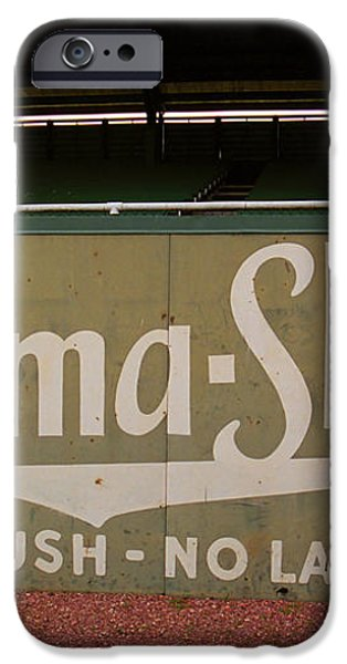 Baseball Field Burma Shave Sign iPhone Case by Frank Romeo