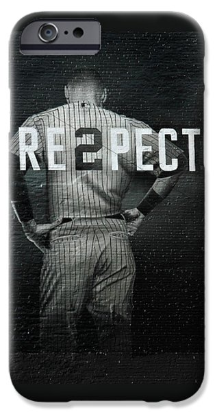 Nyc iPhone Cases - Baseball iPhone Case by Jewels Blake Hamrick