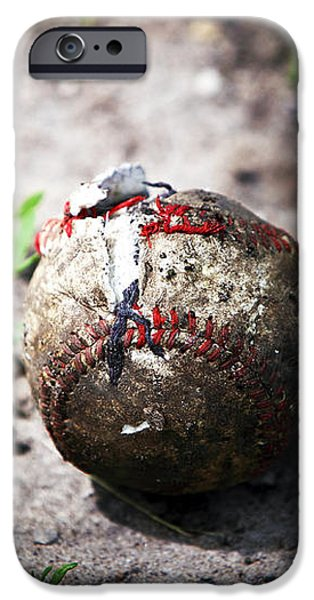 Baseball iPhone Case by John Rizzuto