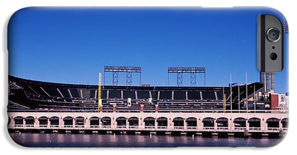 Baseball Parks iPhone Cases - Baseball Park At The Waterfront, At&t iPhone Case by Panoramic Images
