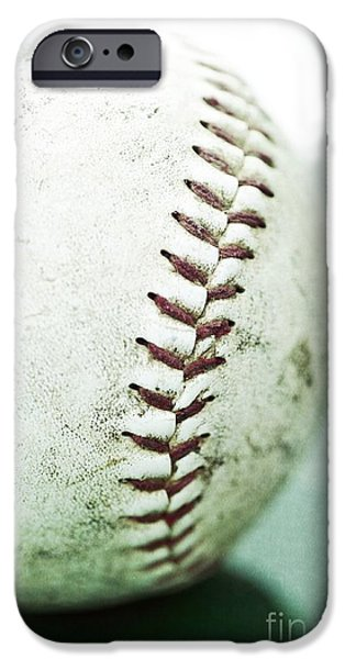 Used iPhone Cases - Baseball iPhone Case by Priska Wettstein