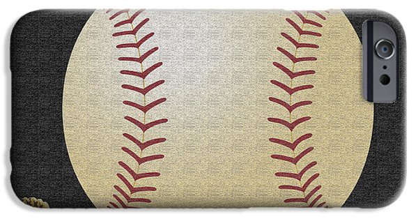 Baseball Glove iPhone Cases - Baseball Season iPhone Case by Tina M Wenger
