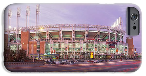 Baseball Stadiums iPhone Cases - Baseball Stadium At The Roadside iPhone Case by Panoramic Images
