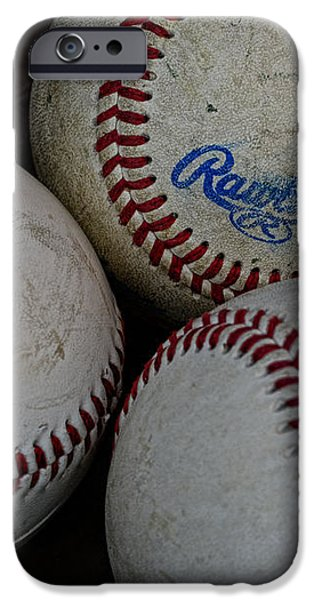 Baseball - The American Pastime iPhone Case by Paul Ward