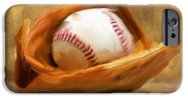 Fanatic iPhone Cases - Baseball V iPhone Case by Lourry Legarde