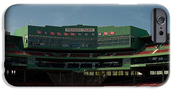 Boston Ma iPhone Cases - Baseballs Hollowed Ground iPhone Case by Paul Mangold