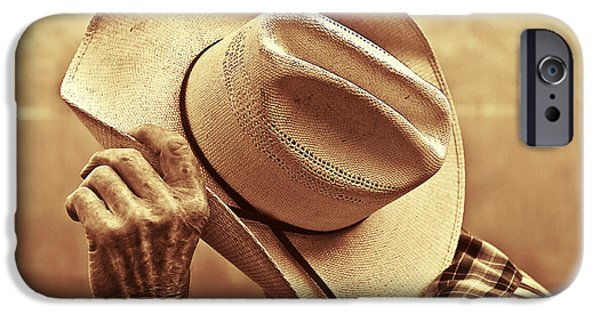 Country iPhone Cases - Bashful iPhone Case by Sandi Mikuse