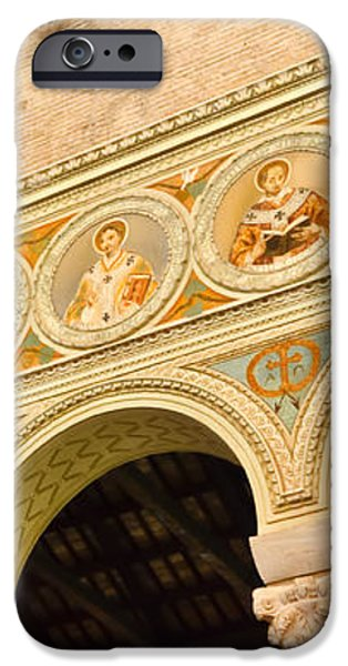 Basilica di Sant' Apollinare Nuovo - Ravenna Italy iPhone Case by Jon Berghoff