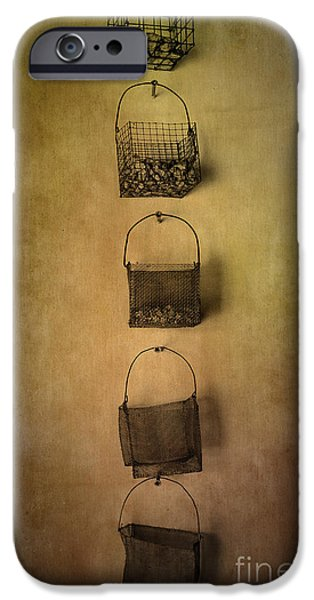 Facade Mixed Media iPhone Cases - Basket Deco iPhone Case by Svetlana Sewell
