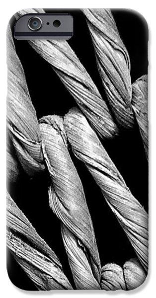 Basket Weave iPhone Case by Jeff Burton