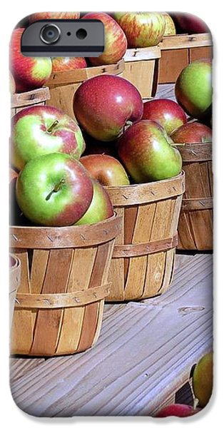 Baskets of Apples iPhone Case by Janice Drew