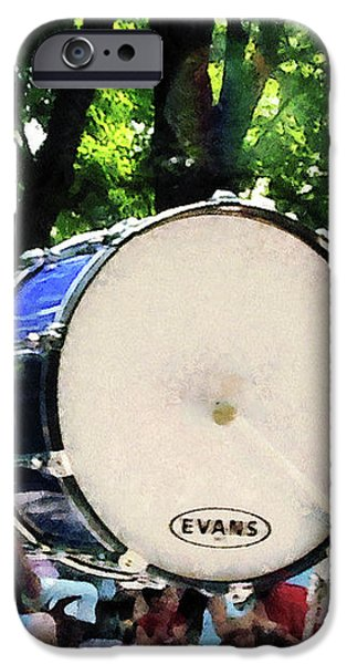 Bass Drums on Parade iPhone Case by Susan Savad
