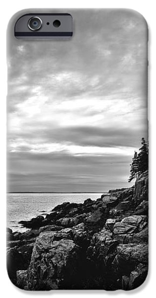 Bass Harbor Lighthouse at Dusk iPhone Case by Diane Diederich