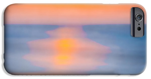 Bathing iPhone Cases - Bathing Corp Sunrise 3 iPhone Case by Ryan Moore