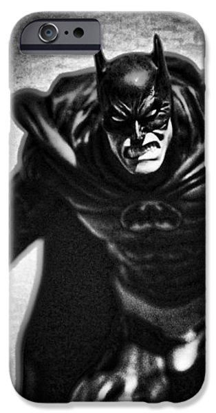Batman - The Dark Knight iPhone Case by Lee Dos Santos