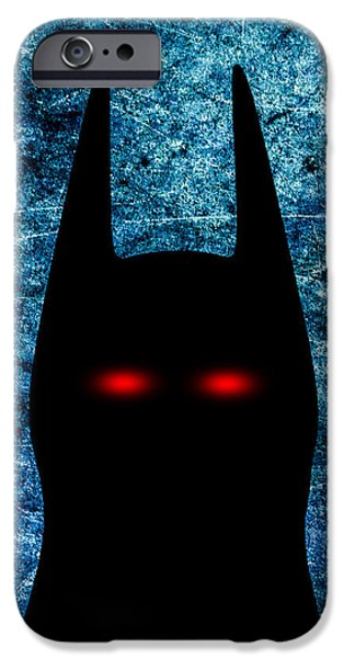 Batman - Dark Knight Number 1 iPhone Case by Bob Orsillo