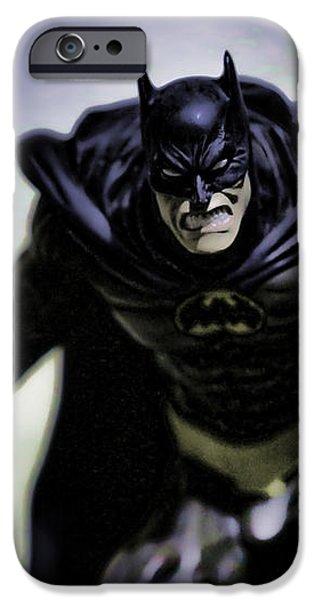Batman iPhone Case by Lee Dos Santos