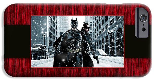 Batman iPhone Cases - Batman iPhone Case by Marvin Blaine