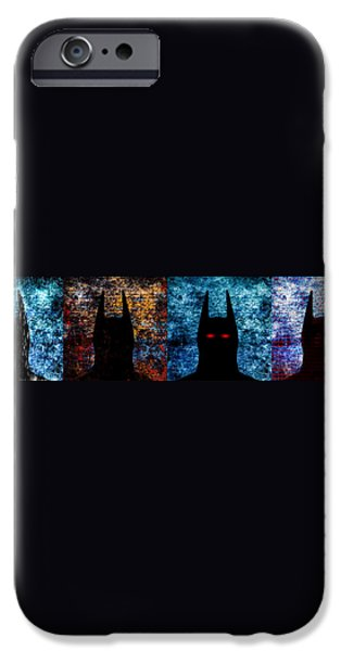Batman - The Dark Knight iPhone Case by Bob Orsillo