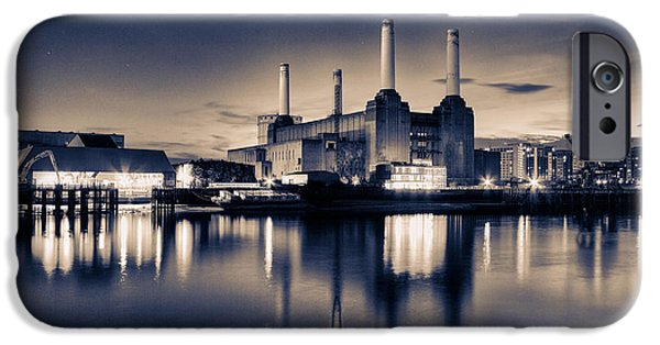 River View iPhone Cases - Battersea Toned iPhone Case by Ian Hufton
