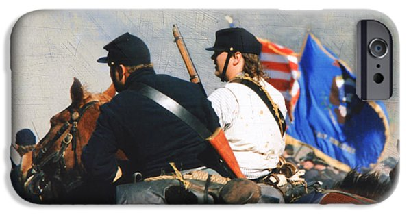 Franklin iPhone Cases - Battle of Franklin - 2 iPhone Case by Kae Cheatham
