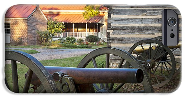 Tennessee Historic Site iPhone Cases - Battle of Franklin iPhone Case by Brian Jannsen