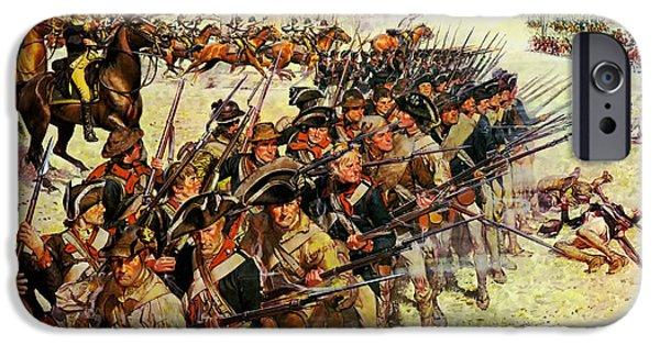 American Revolution iPhone Cases - Battle of Guilford Courthouse 1781 iPhone Case by Mountain Dreams