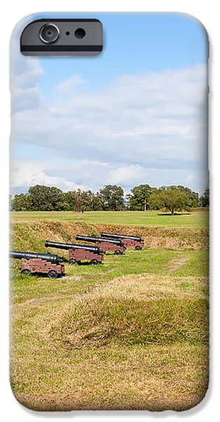 Battle of Yorktown Battlefield iPhone Case by John Bailey