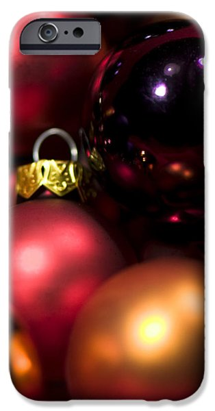 Bauble Abstract iPhone Case by Anne Gilbert