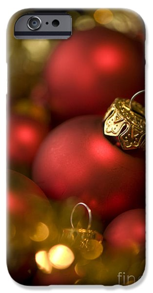 Baubles iPhone Case by Anne Gilbert