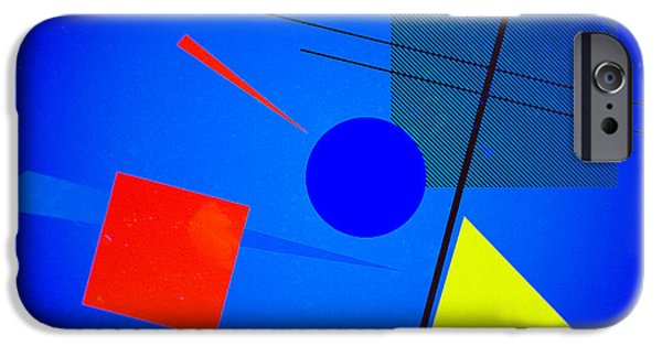 Constructivist iPhone Cases - Bauhaus Abstract iPhone Case by Mark  Langdon