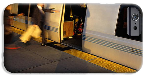 Bay Area iPhone Cases - Bay Area Rapid Transit, Oakland iPhone Case by Panoramic Images