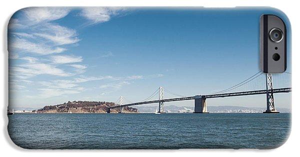 Bay Bridge iPhone Cases - Bay Bridge iPhone Case by Nastasia Cook