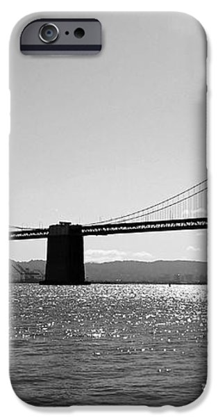 Bay Bridge iPhone Case by Rona Black