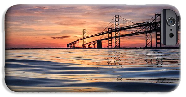 Best Sellers -  - Bay Bridge iPhone Cases - Bay Bridge Silk iPhone Case by Jennifer Casey