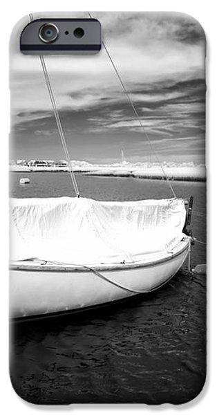 Bay Sailboat iPhone Case by John Rizzuto