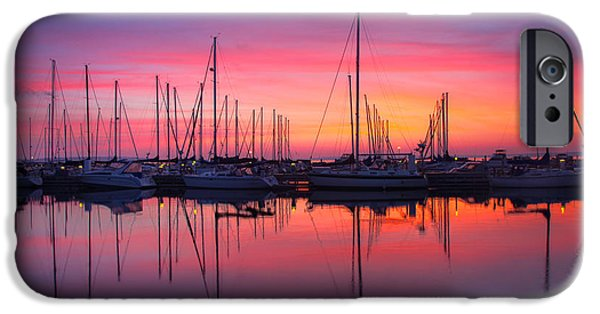 Fall iPhone Cases - Bayfield Wisconsin Magical Morning Sunrise iPhone Case by Wayne Moran
