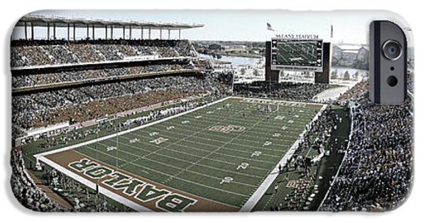 Recently Sold -  - Buildings iPhone Cases - Baylor Gameday No 4 iPhone Case by Stephen Stookey