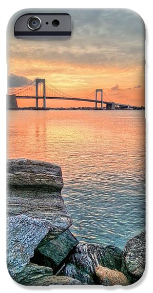Bayside iPhone Cases - Bayside Queens iPhone Case by JC Findley