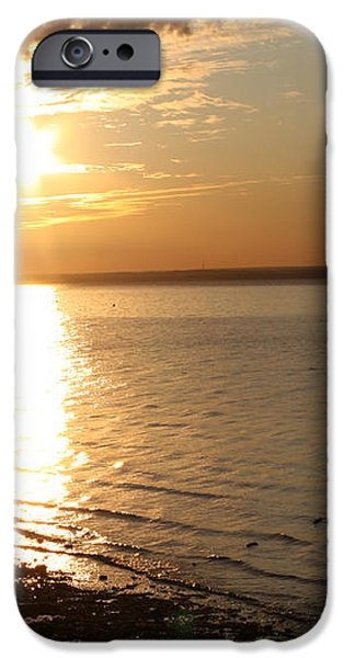 Bayville Sunset iPhone Case by JOHN TELFER