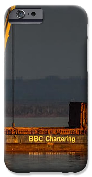 BBC Chartering iPhone Case by Paul Freidlund